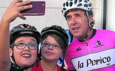 Pedro Delgado: «Cuando corría en Segovia los rivales me marcaban más»