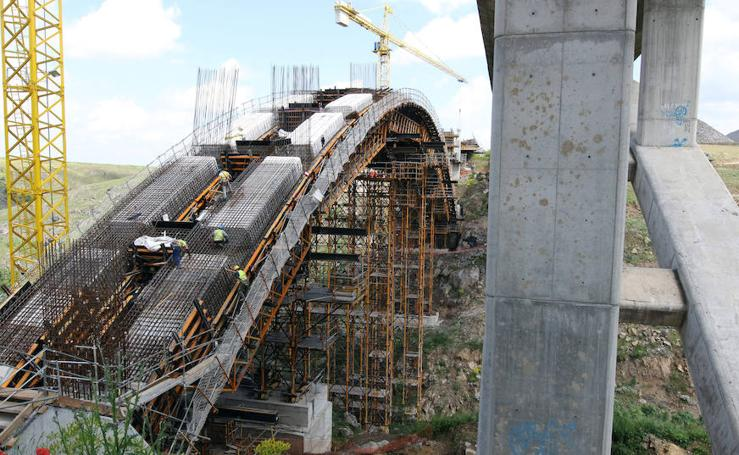 Estado de las obras de la Sg-20 en Segovia