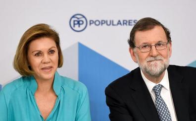 Cospedal no se descarta como candidata a suceder a Rajoy