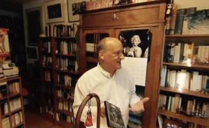 Un lugar de fábula: el despacho de Gustavo Martín Garzo en un vídeo de 360º