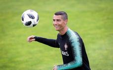 Cristiano repite 'salida' del Madrid