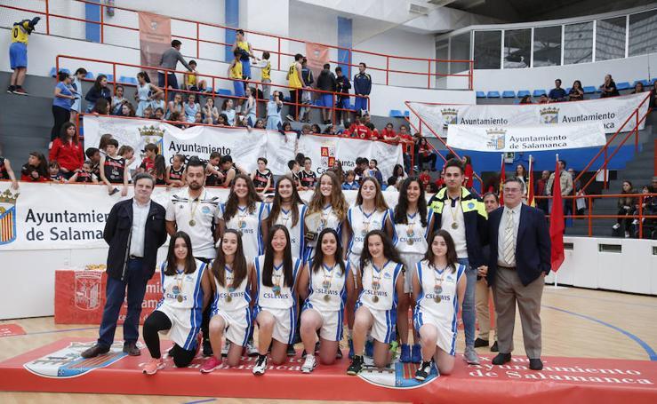 Entrega de premios de los Juegos Escolares de Salamanca