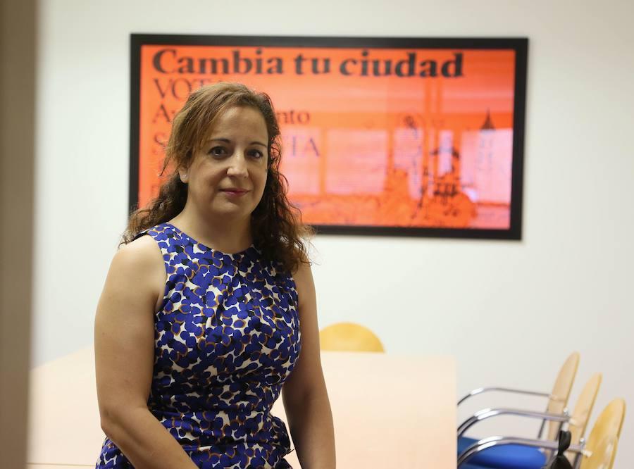 La vallisoletana Iratxe García confía en que Borrell haga un «gran trabajo de pedagogía» sobre Cataluña