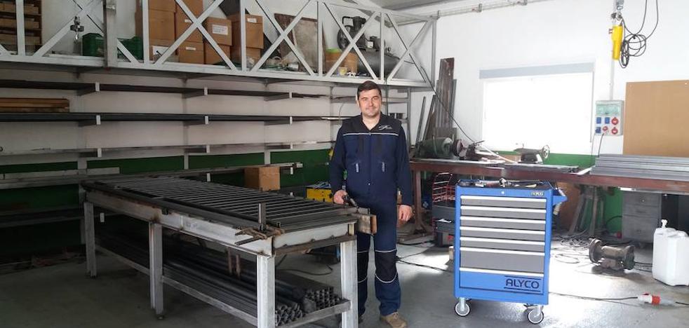 El soldador apasionado de la forja