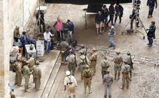 Finaliza el rodaje de 'Mientras dure la guerra', de Alejandro Amenábar, en Salamanca