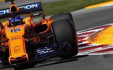Canadá se le atraganta a Alonso