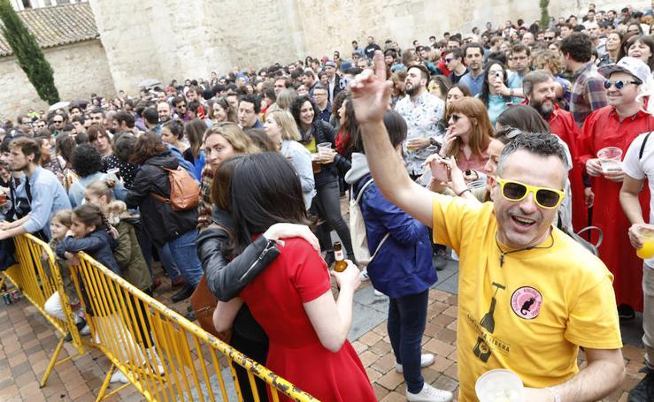 Multitudinaria jornada de sábado en el Palencia Sonora