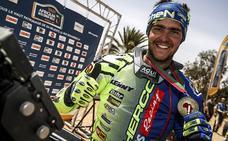 Lorenzo Santolino acude a la tercera prueba del Campeonato de Italia de MotoRally