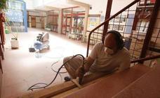 Siete centros se suman al listado de colegios que estarán en obras durante este verano