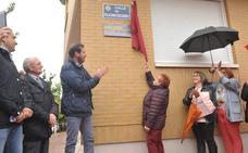 Inauguración de la calle que homenajea al presidente de la Asociación Vecinal barrio Belén