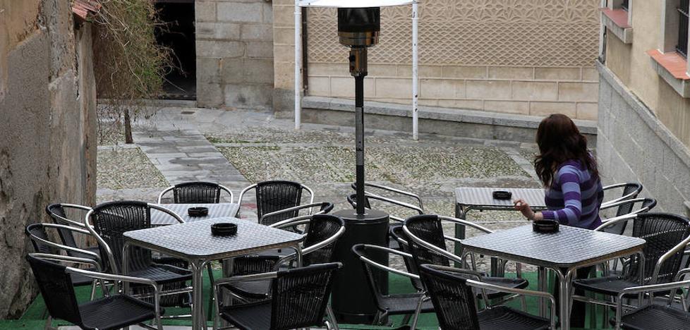 Las terrazas de la hostelería segoviana, a examen