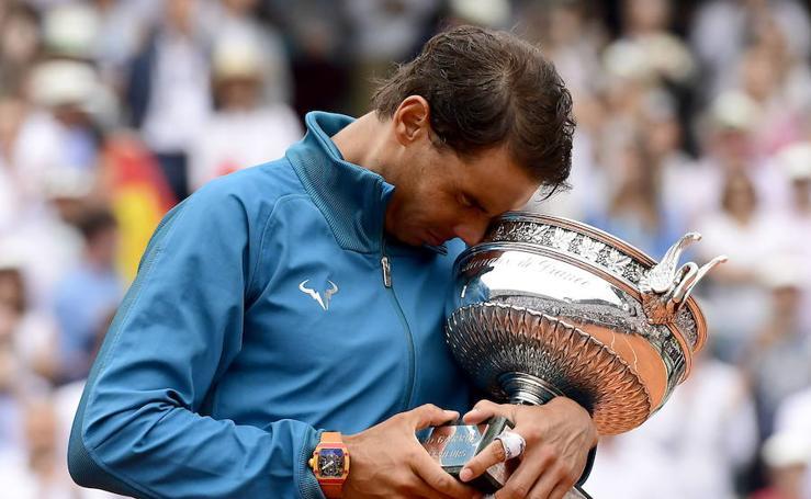 Nadal, el rey incontestable de Roland Garros