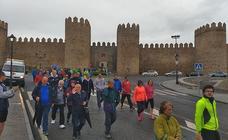 1.200 personas por la discapacidad en Ávila