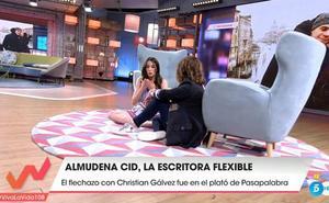 Almudena Cid recuerda la presión social que ha vivido por no quedarse embarazada