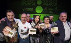 Entrega de premios del Concurso Provincial de Pinchos de Valladolid