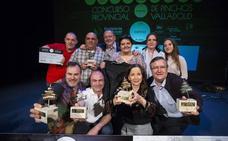 'Esencia', del restaurante Puerto Chico, ganador del Concurso Provincial de Pinchos de Valladolid