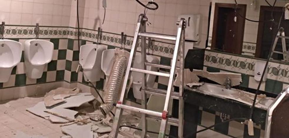 Detenido por causar una explosión en los baños de un establecimiento