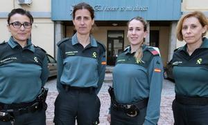 Así son las mujeres de la Guardia Civil en Segovia