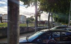 Disuaden por la fuerza a un hombre que estaba en las vías cuando se aproximaba un tren en Palencia