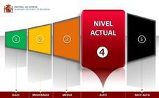 El mensaje que alerta a España sobre el nivel antiterrorista