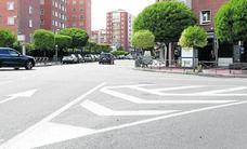 Movilidad señaliza cuatro cruces peligrosos de Valladolid para evitar accidentes