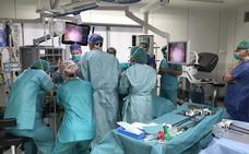 La cirugía robótica llega al HUBU