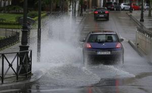 Las lluvias desaparecen hoy en Valladolid tras dejar 392 litros este año, el doble que en todo 2017