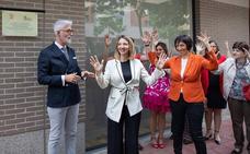 Inauguración en Valladolid de las nuevas instalaciones de la Federación de Asociaciones de Personas Sordas de Castilla y León