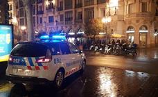 Un joven suma tres delitos en diez minutos por circular sin carné, ebrio y huir en Valladolid