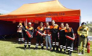 Protección Civil de Laguna celebra sus 30 años con una demostración de los servicios de emergencia