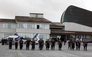 Cerca de 2.600 alumnos se despiden de la Escuela de Policía de Ávila