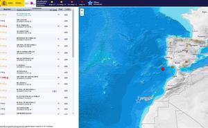 Tres terremotos de magnitud 2,5 en las provincias de Soria y Palencia