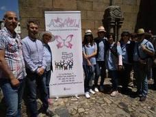 La Asociación de Lupus se presenta en la bendición del marrano de San Antón