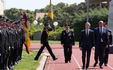 Grande-Marlaska se estrena en Ávila como ministro del Interior