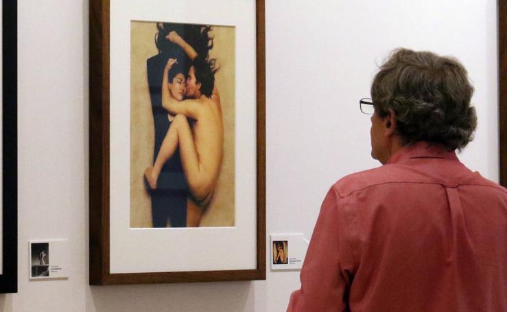 El Patio Herreriano acoge la exposición 'Malkovich: Homenaje a los grandes iconos de la fotografía. La última sesión por Sandro Miller'