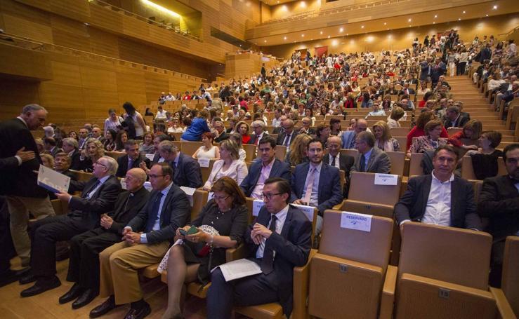 El Hospital Clínico celebra su 40 aniversario con un acto en el Miguel Delibes