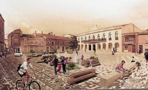 El proyecto Platea gana el concurso para remodelar la Plaza Mayor de Íscar