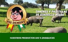 Puigdemont denuncia a la empresa 'Pig Demont'