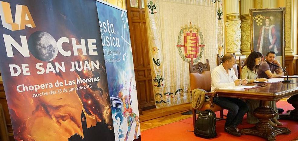 Programa de la noche de San Juan en Valladolid
