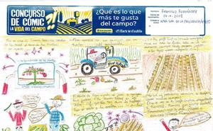 El concurso 'La vida del campo' ya tiene ganadores en dibujo y cómic