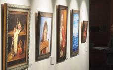 Cuatro artistas ciegos muestran su obra pictórica en el Palacio Licenciado Butrón