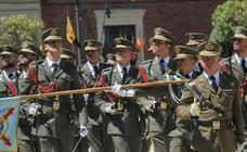 Caballería cierre el curso con la marcha de 49 futuros tenientes y sargentos