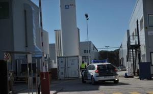 Dados de alta los tres heridos por la explosión en Crystal Pharma en Boecillo