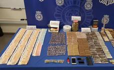 Siete detenidos por tráfico de drogas en dos puntos de venta en Valladolid