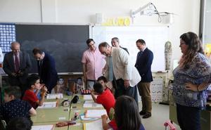 La localidad estrena colegio tras triplicar su población educativa en solo seis años