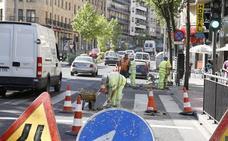 Las obras de remodelación del Paseo de Canalejas comienzan el lunes