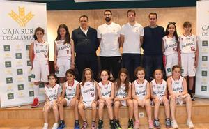 La selección femenina de Salamanca quiere hacer un buen papel en el Regional de minibasket