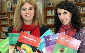 Dos docentes de Valladolid crean los primeros libros de Naturales en alemán para bilingüismo