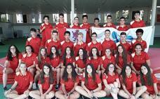 Siete cadetes salmantinos compiten con la selección regional en el Campeonato de España de Deporte en Edad