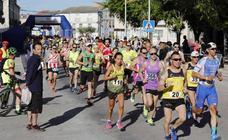 Media maratón en Campaspero